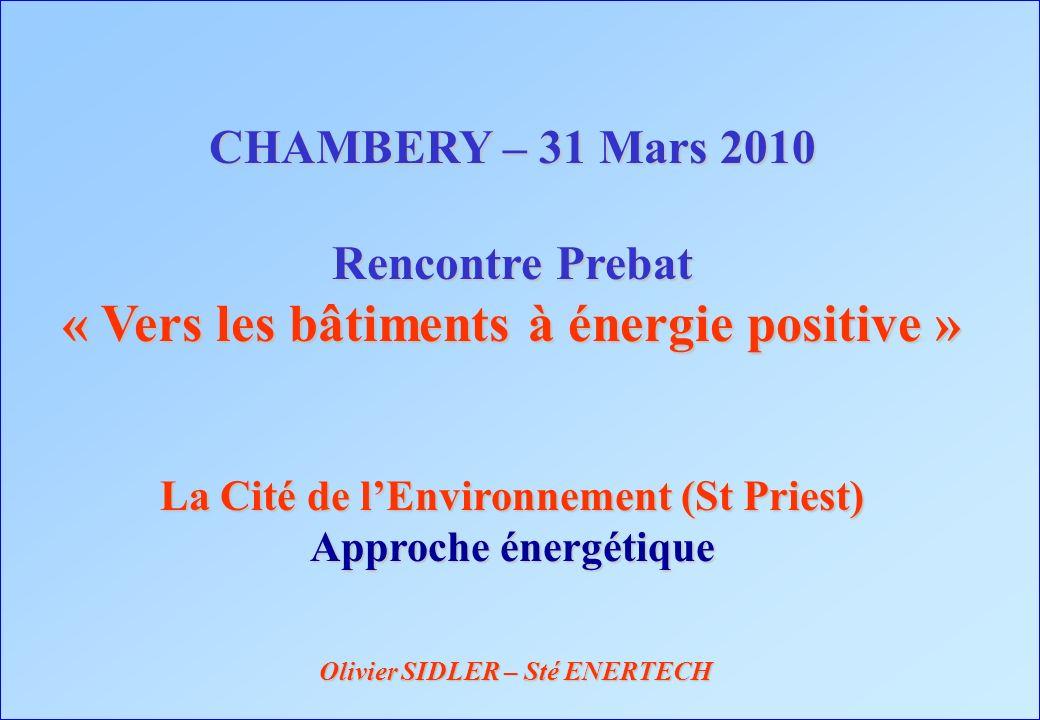 « Vers les bâtiments à énergie positive »