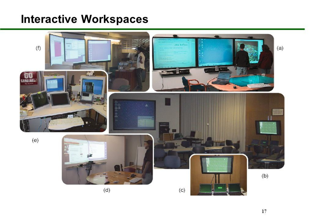 Interactive Workspaces