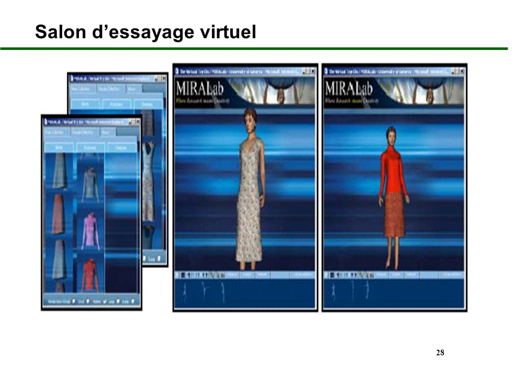 Salon d'essayage virtuel