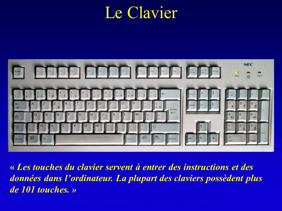 Le Clavier