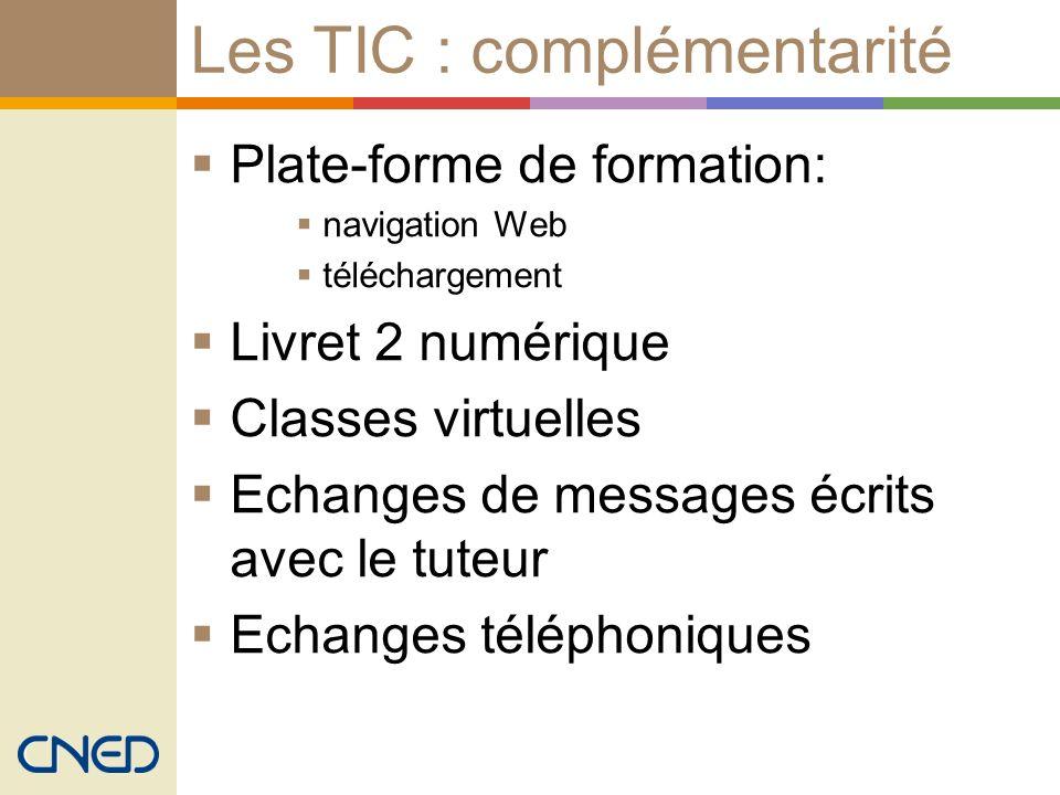 Les TIC : complémentarité