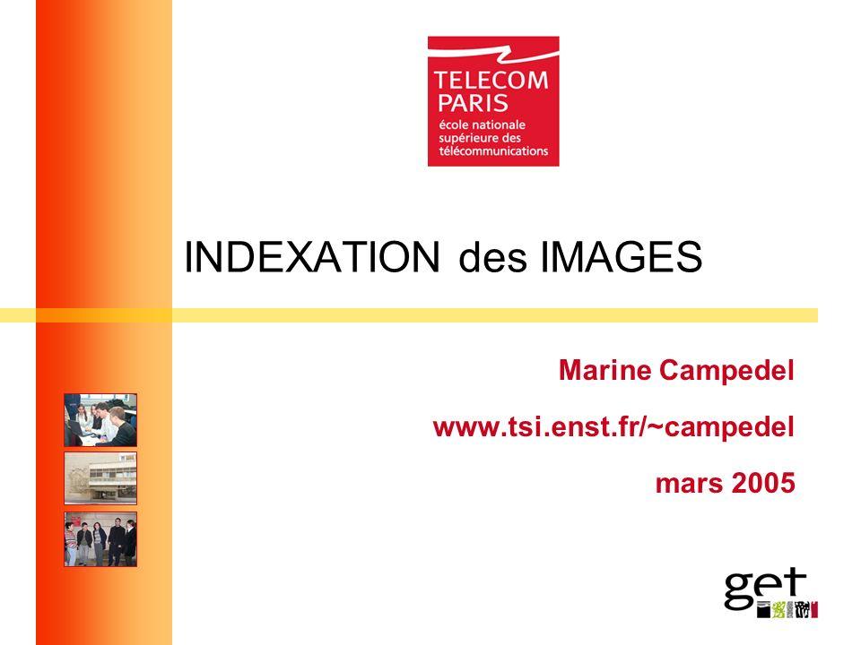Marine Campedel www.tsi.enst.fr/~campedel mars 2005