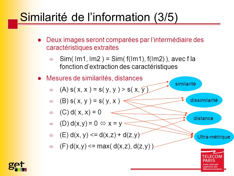 Similarité de l'information (3/5)