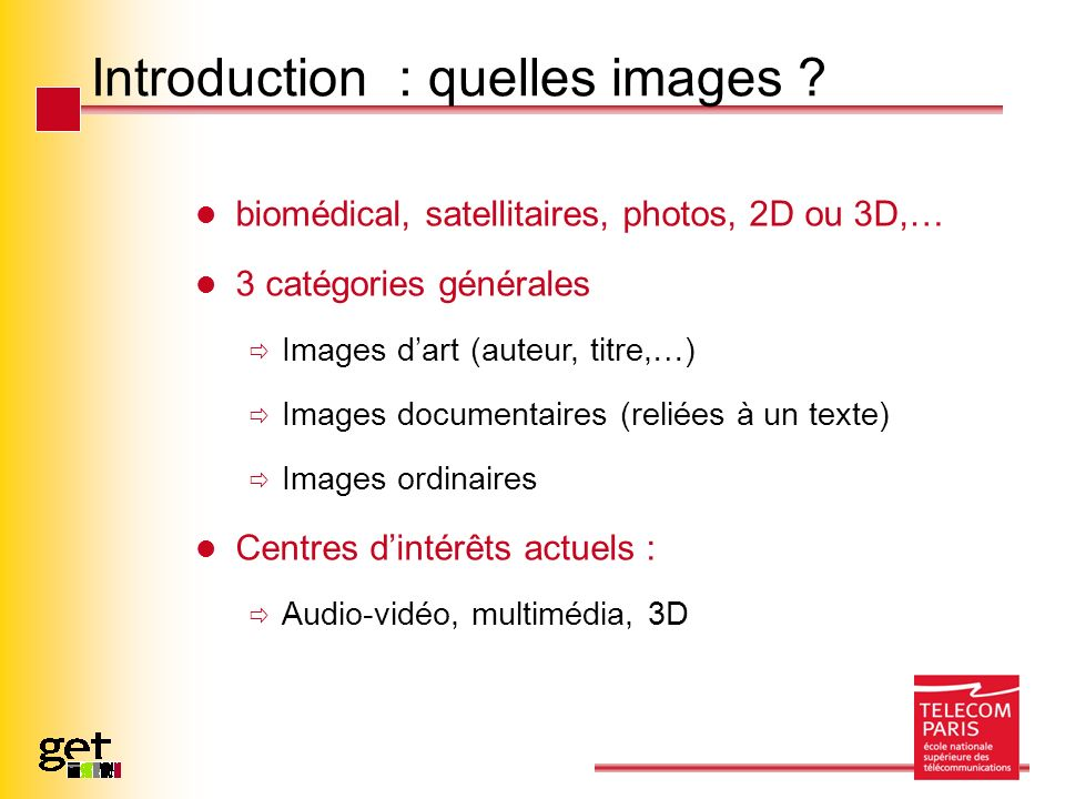 Introduction : quelles images