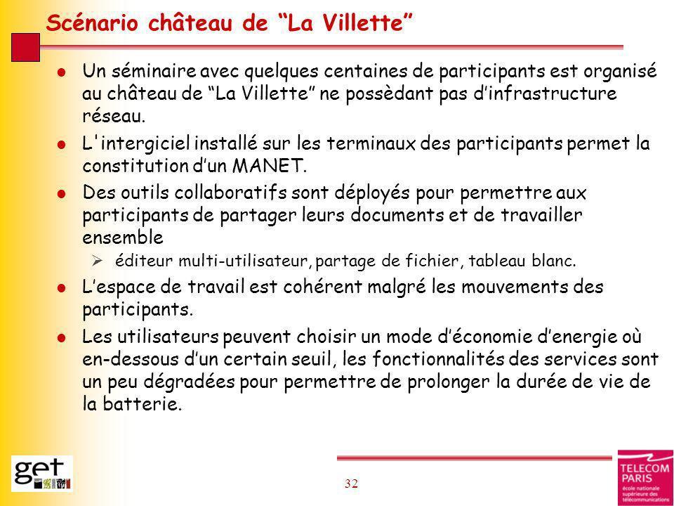 Scénario château de La Villette