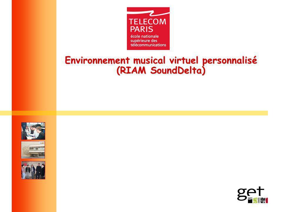 Environnement musical virtuel personnalisé (RIAM SoundDelta)