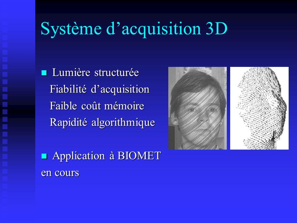 Système d'acquisition 3D