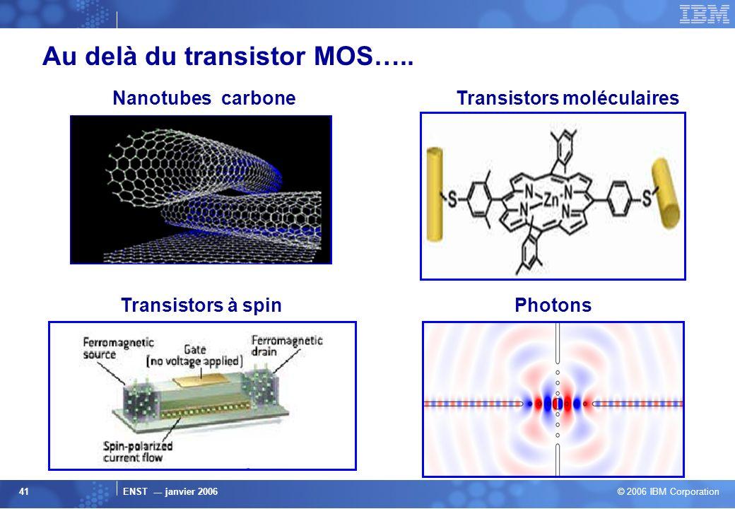Transistors moléculaires