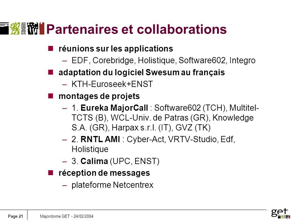 Partenaires et collaborations