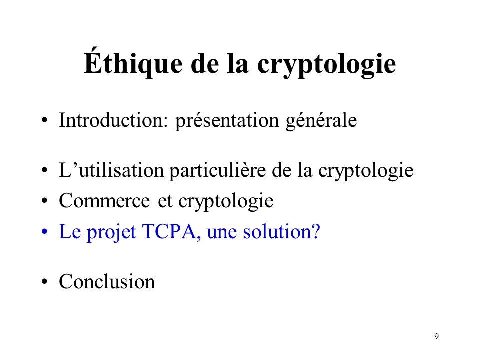 Éthique de la cryptologie