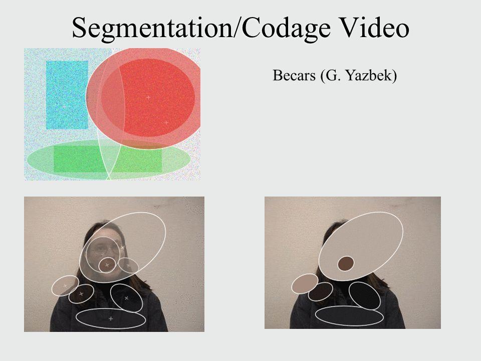 Segmentation/Codage Video