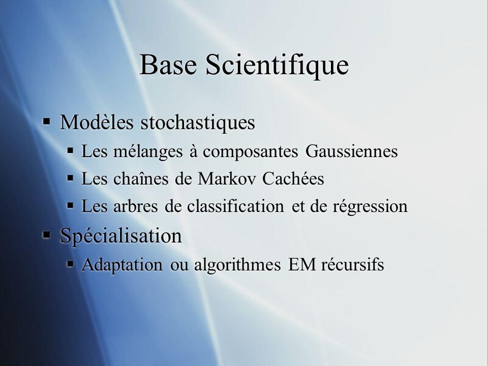 Base Scientifique Modèles stochastiques Spécialisation