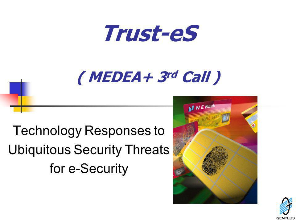 Trust-eS ( MEDEA+ 3rd Call )