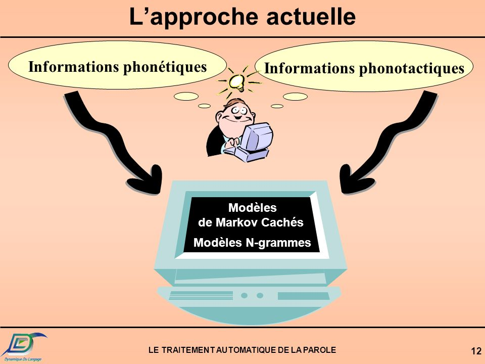 Informations phonétiques Informations phonotactiques