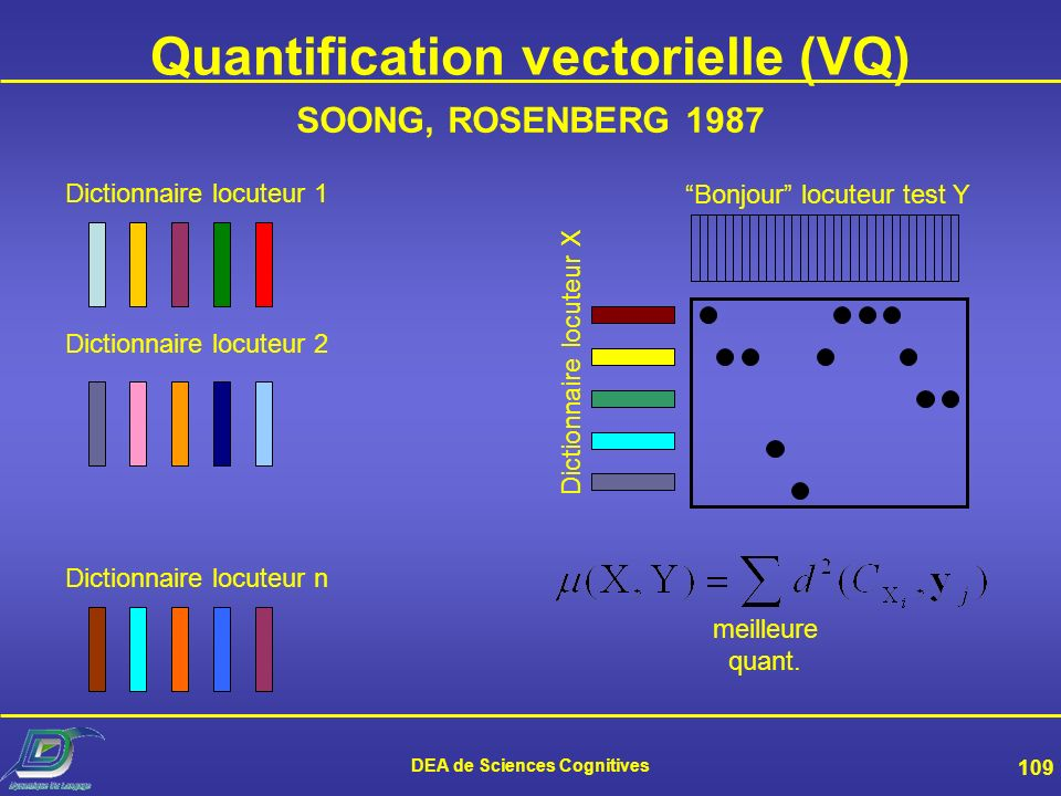 Quantification vectorielle (VQ)