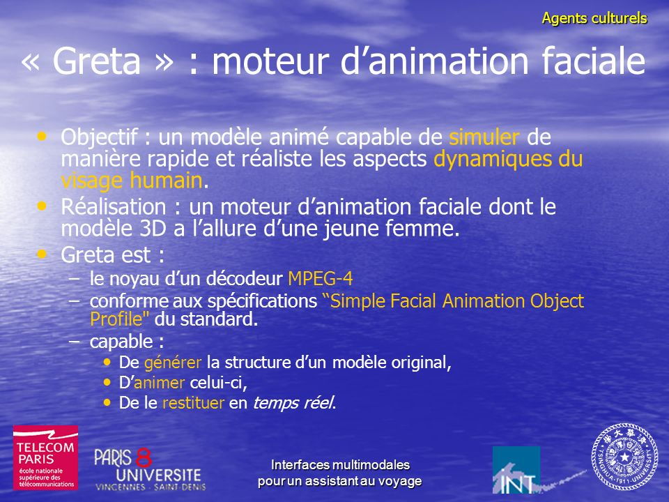 « Greta » : moteur d'animation faciale