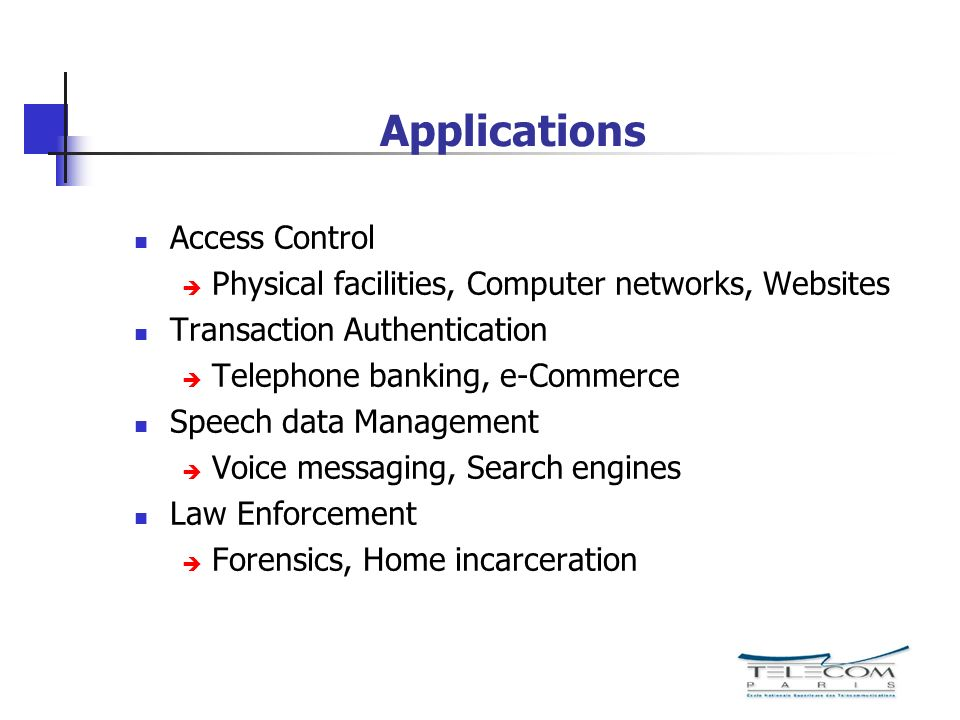 Applications Access Control