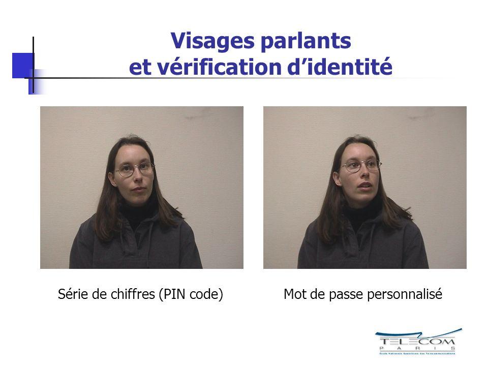 Visages parlants et vérification d'identité