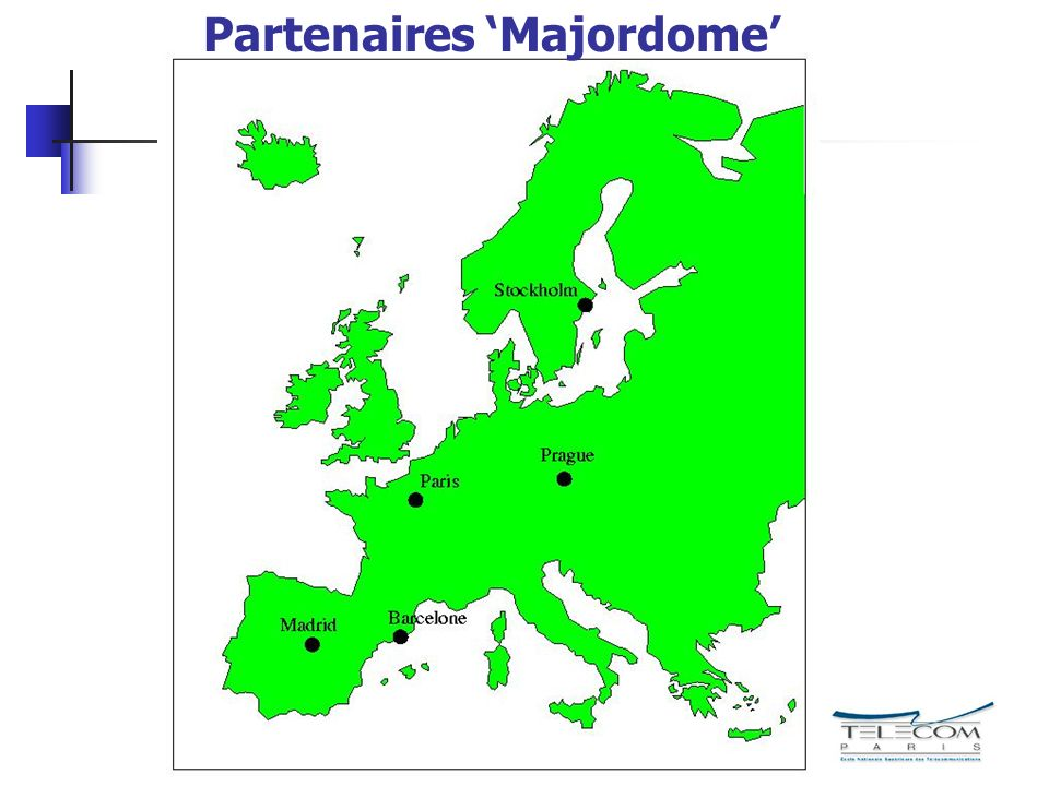 Partenaires 'Majordome'