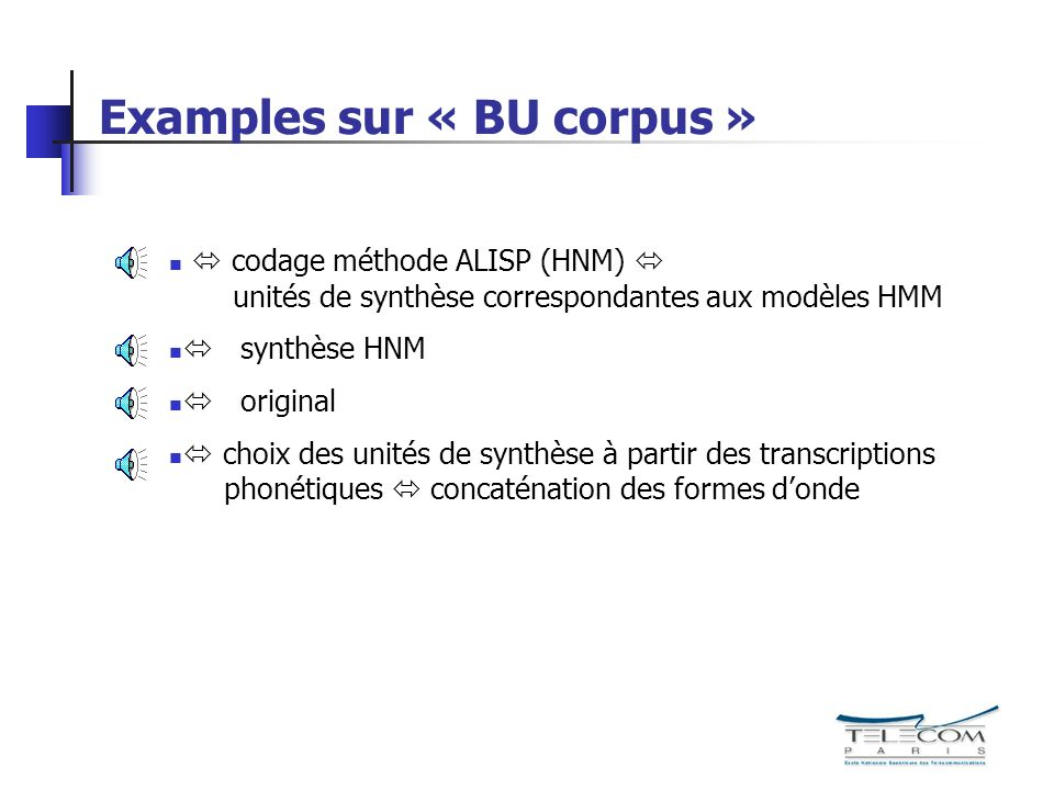 Examples sur « BU corpus »