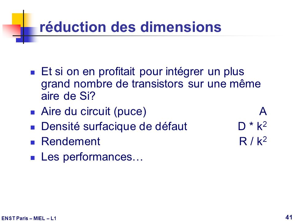 réduction des dimensions