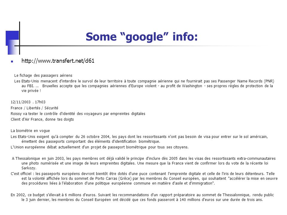Some google info: http://www.transfert.net/d61