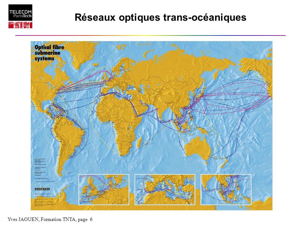 Réseaux optiques trans-océaniques