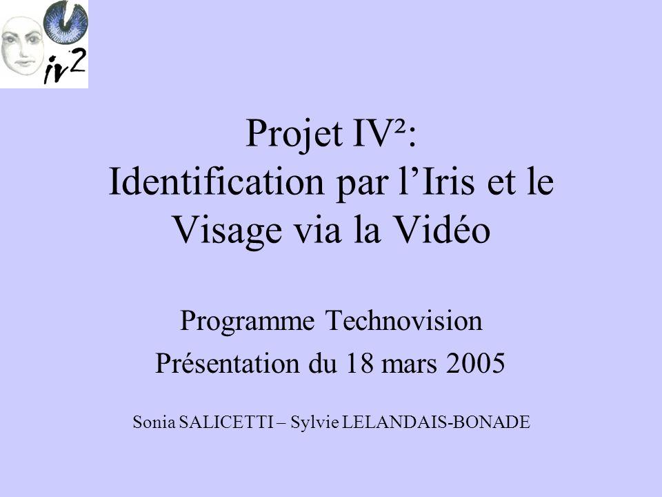Projet IV²: Identification par l'Iris et le Visage via la Vidéo