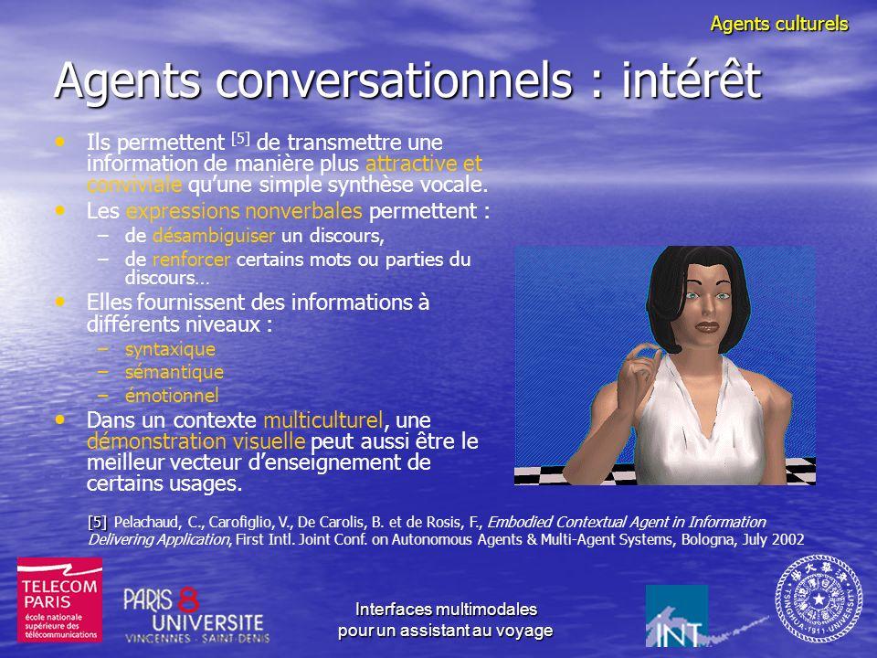 Agents conversationnels : intérêt