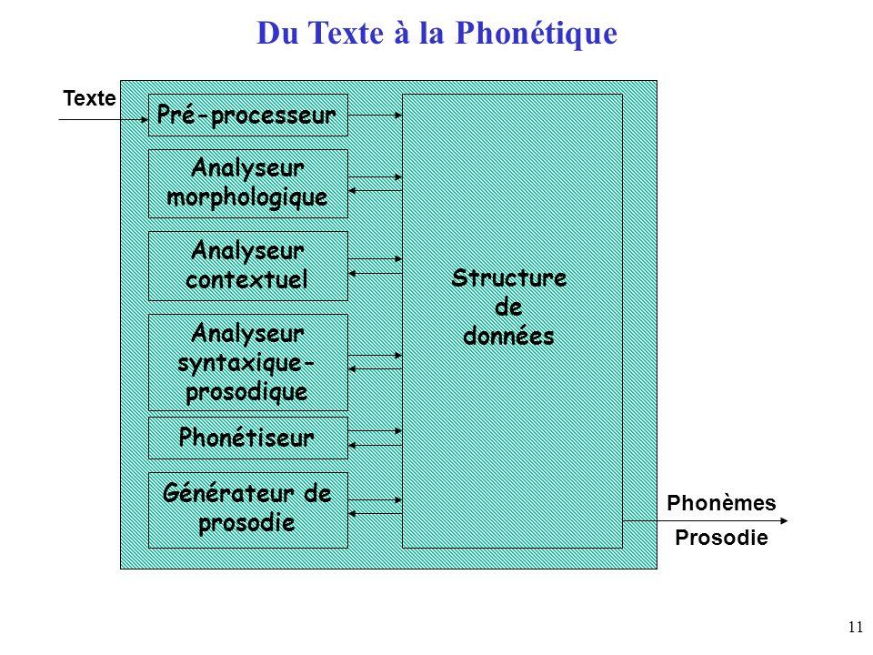 Du Texte à la Phonétique