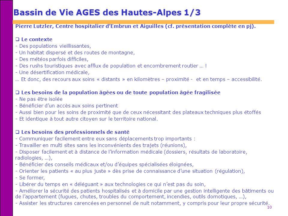 Bassin de Vie AGES des Hautes-Alpes 1/3