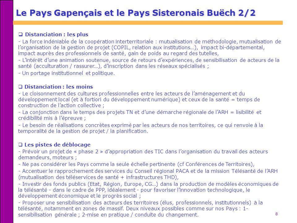 Le Pays Gapençais et le Pays Sisteronais Buëch 2/2