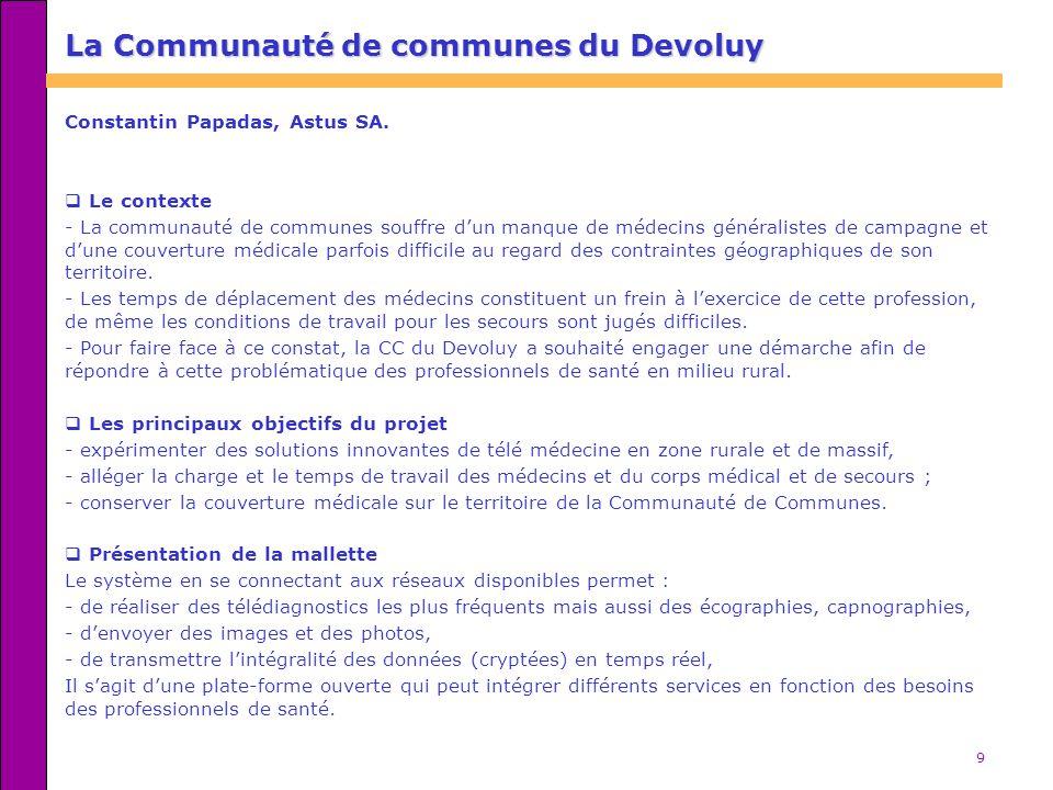 La Communauté de communes du Devoluy