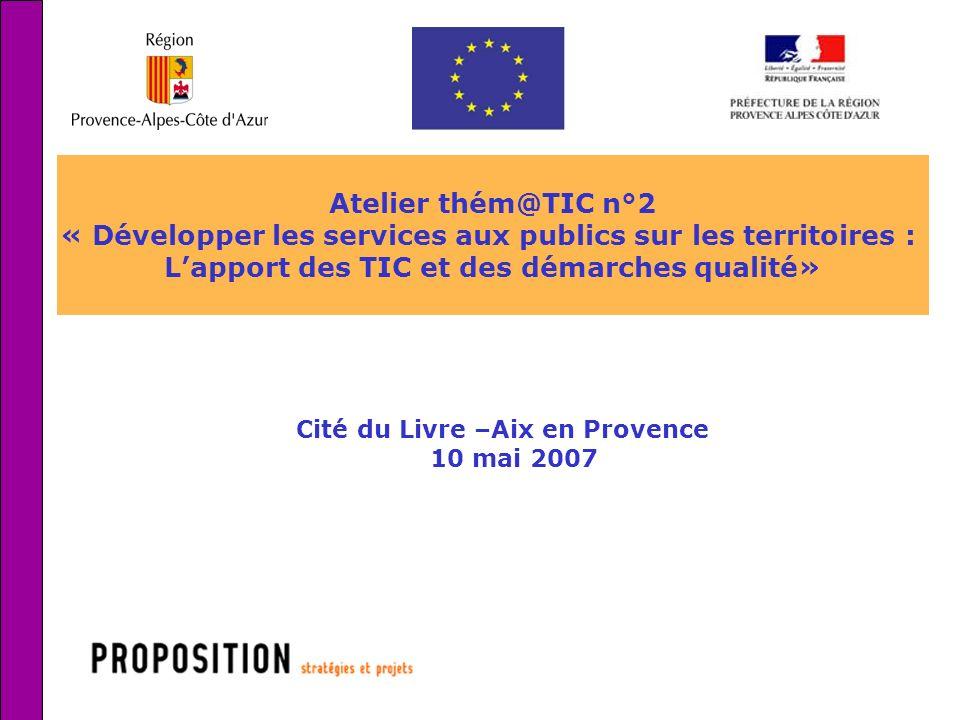« Développer les services aux publics sur les territoires :