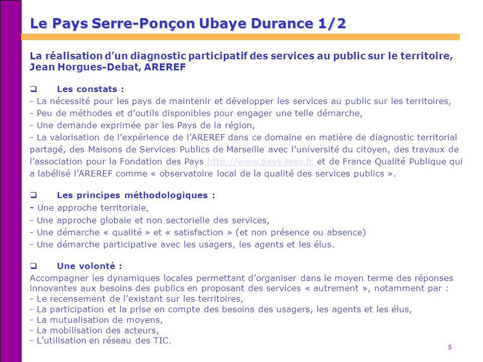 Le Pays Serre-Ponçon Ubaye Durance 1/2