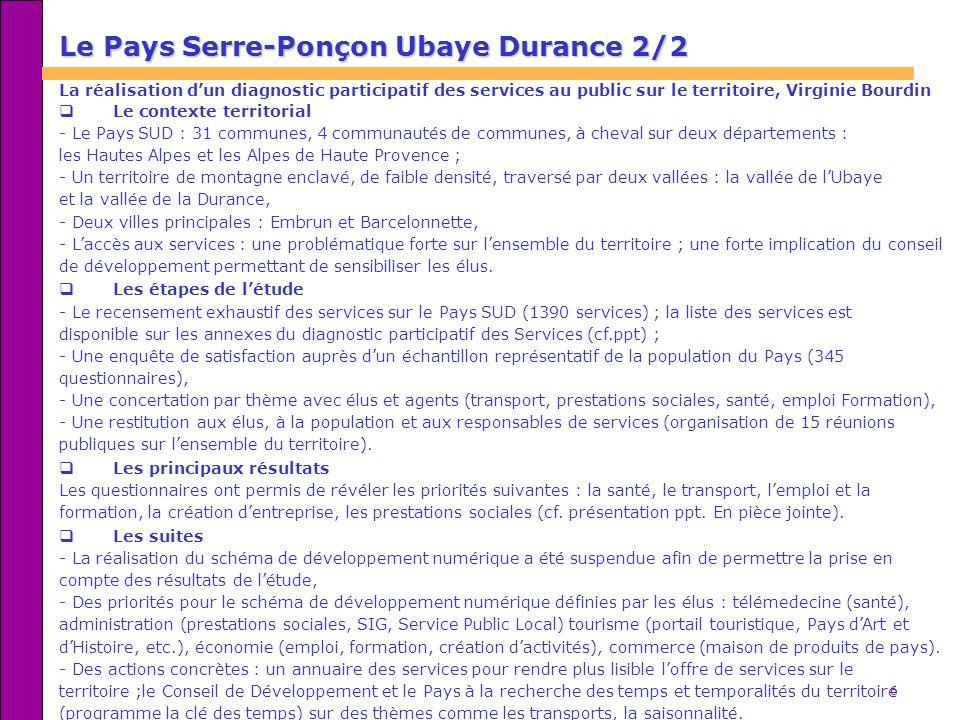 Le Pays Serre-Ponçon Ubaye Durance 2/2