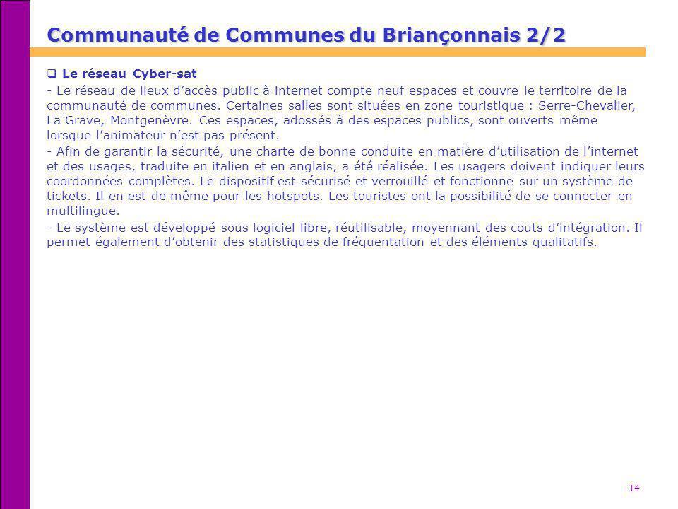 Communauté de Communes du Briançonnais 2/2