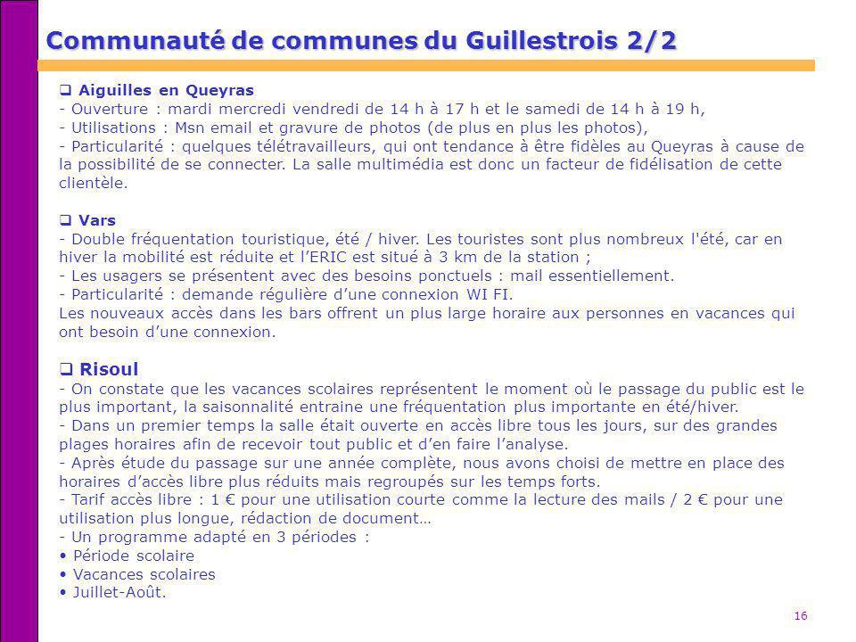Communauté de communes du Guillestrois 2/2