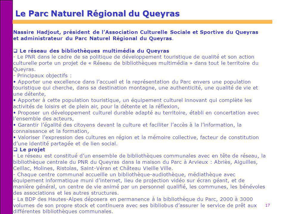 Le Parc Naturel Régional du Queyras