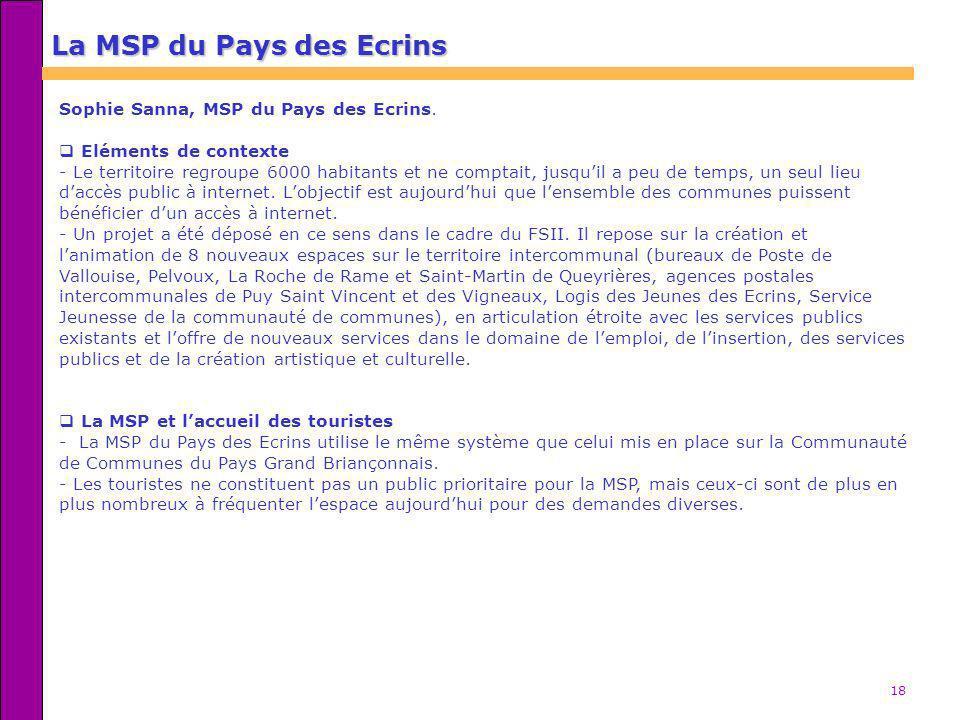 La MSP du Pays des Ecrins