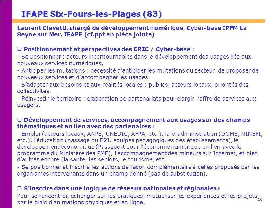 IFAPE Six-Fours-les-Plages (83)