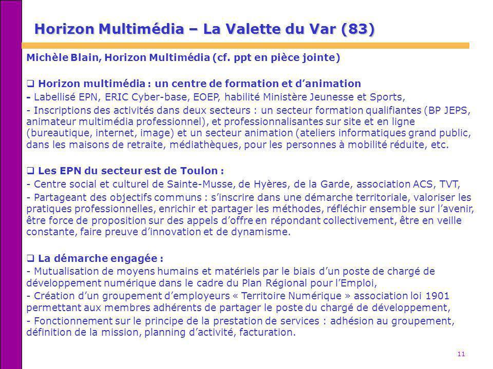 Horizon Multimédia – La Valette du Var (83)