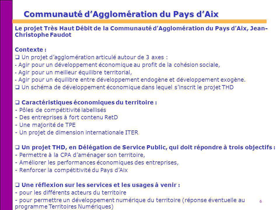 Communauté d'Agglomération du Pays d'Aix