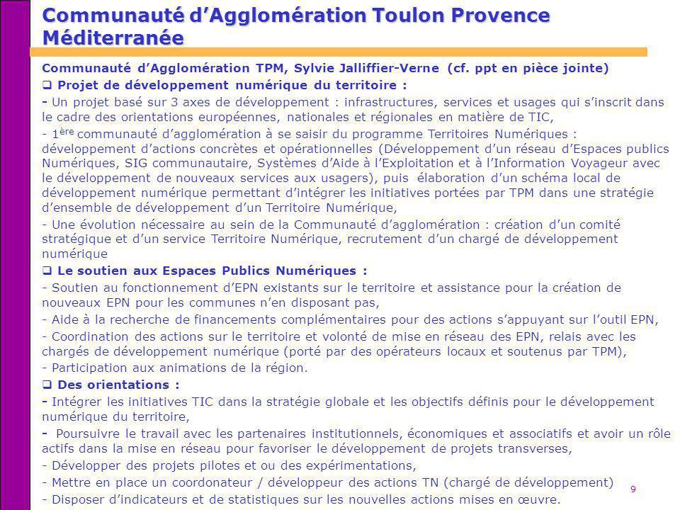 Communauté d'Agglomération Toulon Provence Méditerranée