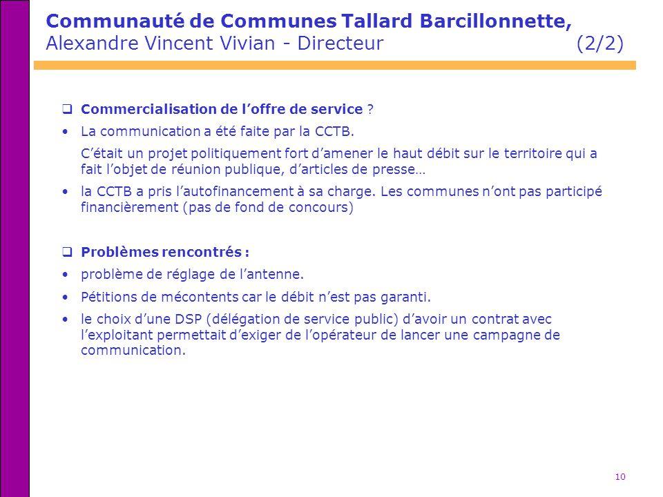 Communauté de Communes Tallard Barcillonnette,