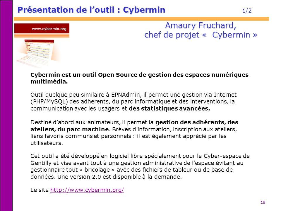 chef de projet « Cybermin »