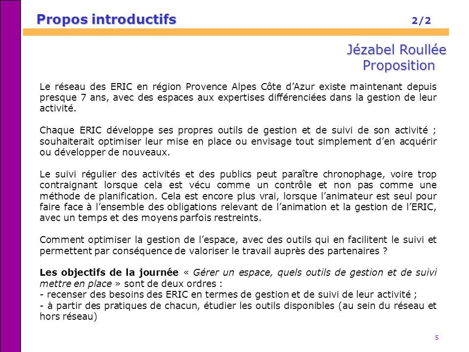 Propos introductifs 2/2 Jézabel Roullée Proposition