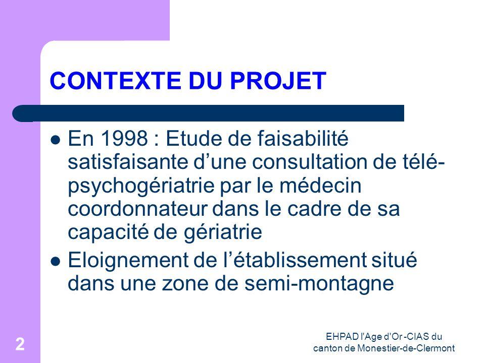 EHPAD l Age d Or -CIAS du canton de Monestier-de-Clermont