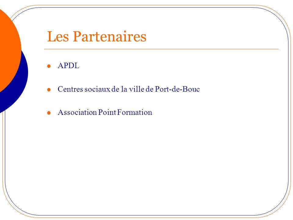 Les Partenaires APDL Centres sociaux de la ville de Port-de-Bouc