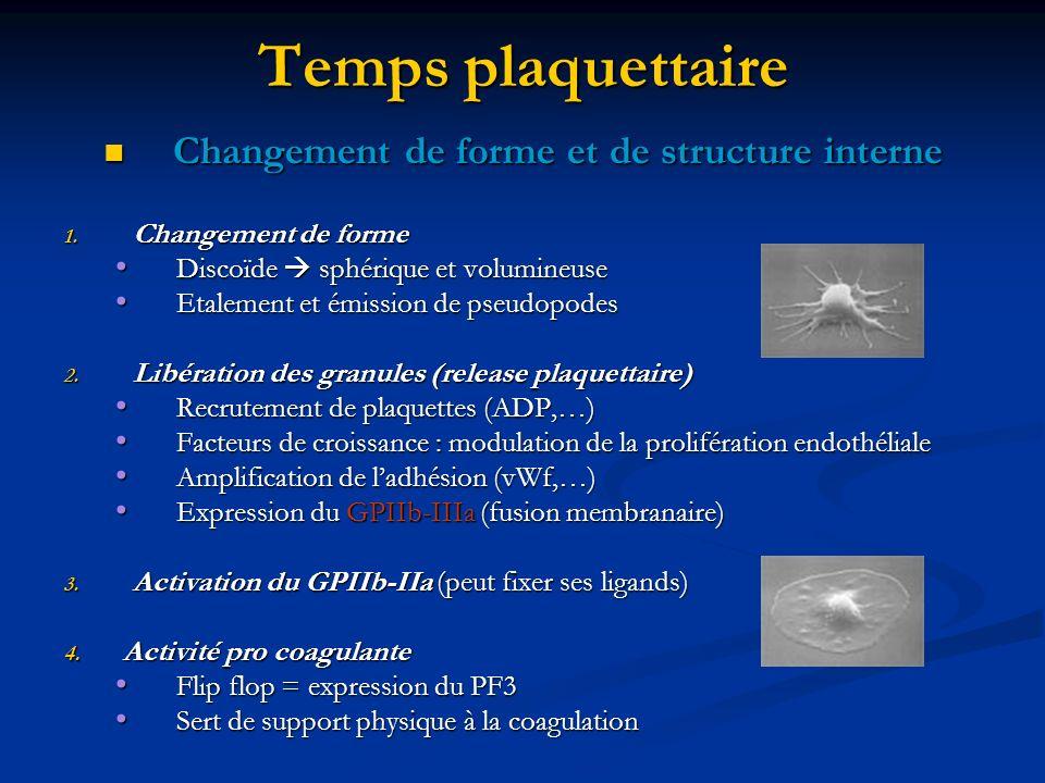 Changement de forme et de structure interne